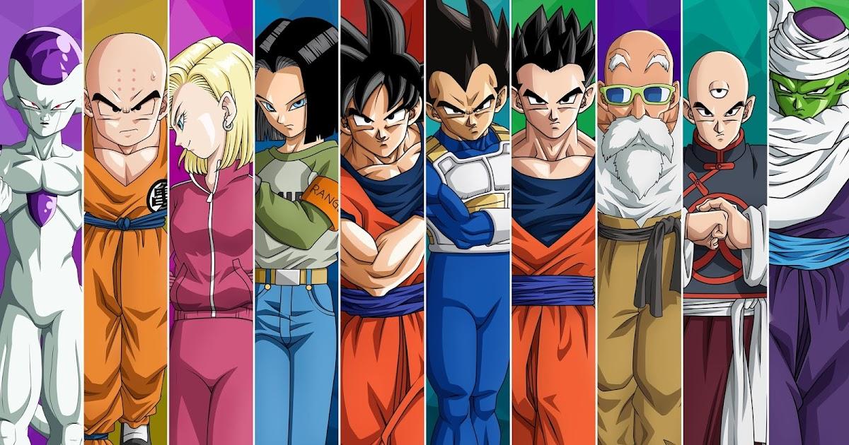 Papel De Parede Dragon Ball Z Personagens