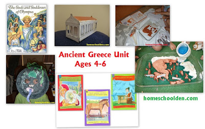 http://homeschoolden.com/2015/08/12/ancient-greece-unit-for-kindergarten-grade-1-2/