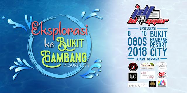 Wordless Wednesday: Eksplorasi JDT Blogger ke Bukit Gambang Resort City
