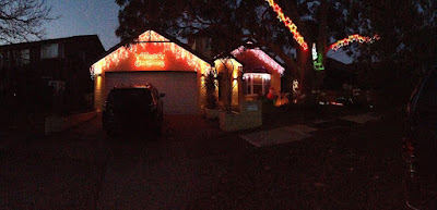 Christmas Lights St George Oatley Area