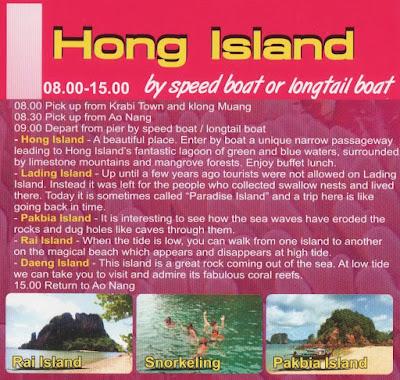 Excursión a las Islas Hong en Krabi (Ao Nang)