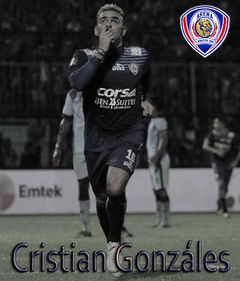 Biodata Poster terbaru Cristian Gonzáles Arema FC