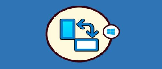 cómo rotar la pantalla en Windows 10