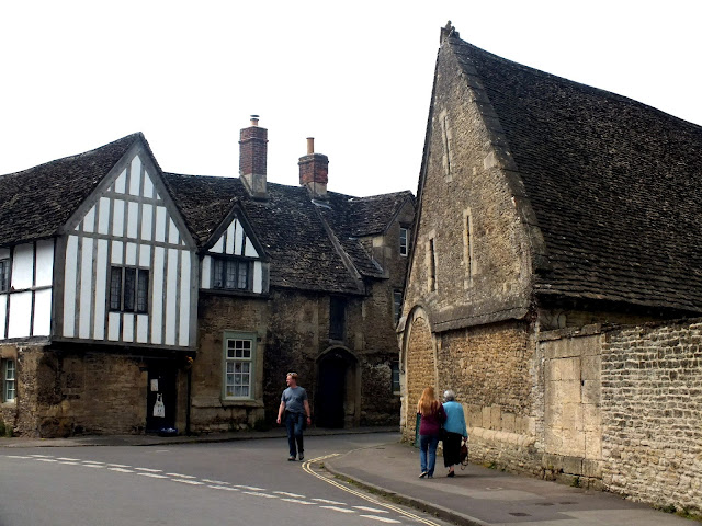 Lacock en The Cotswolds