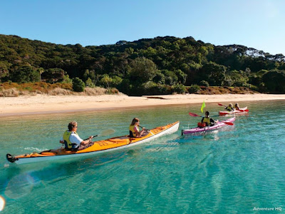 Kayak Through the Bay of Islands North of Auckland