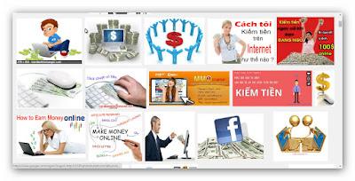 cách kiếm tiền trên mạng