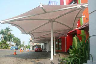 tenda membrane jakarta - gudang canopy