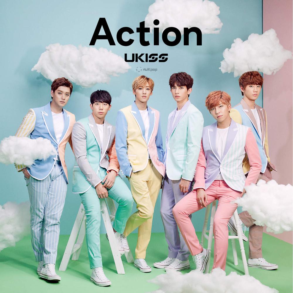 U-KISS – Action (Japanese) – Single