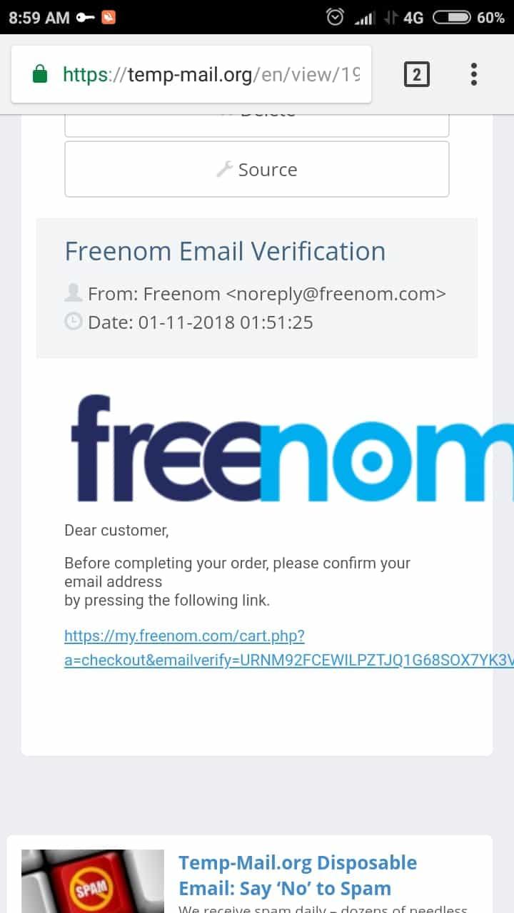 Cara Daftar Domain Freenom Gratis Terbaru  tk  ga  cf  gq