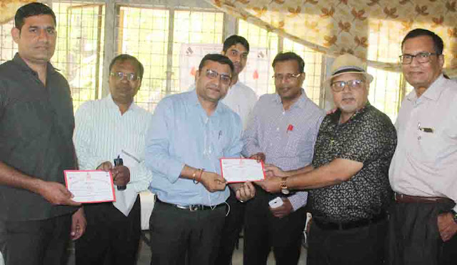 Punjab National Bank Nehru Ground Branch celebrated its 124th Raising Day