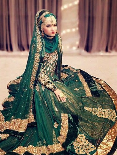 Gaun Pengantin Muslimah Terbaru 2019