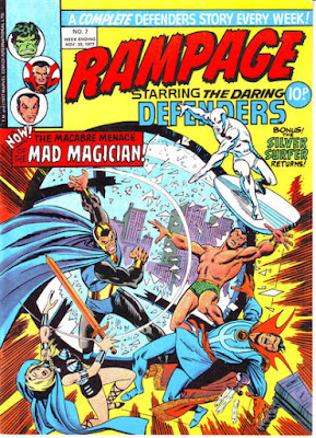 Rampage #7, the Defenders