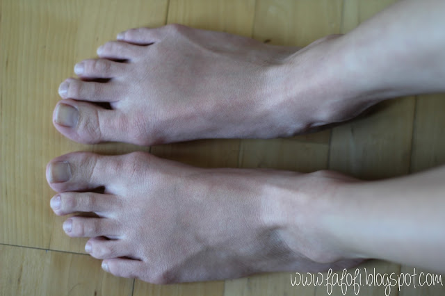 Kocostar Foot Therapy Female Foot After