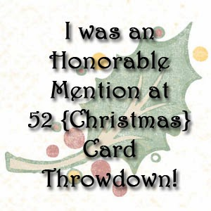 mention honorable chez 52 {Christmas}Card Throwdown