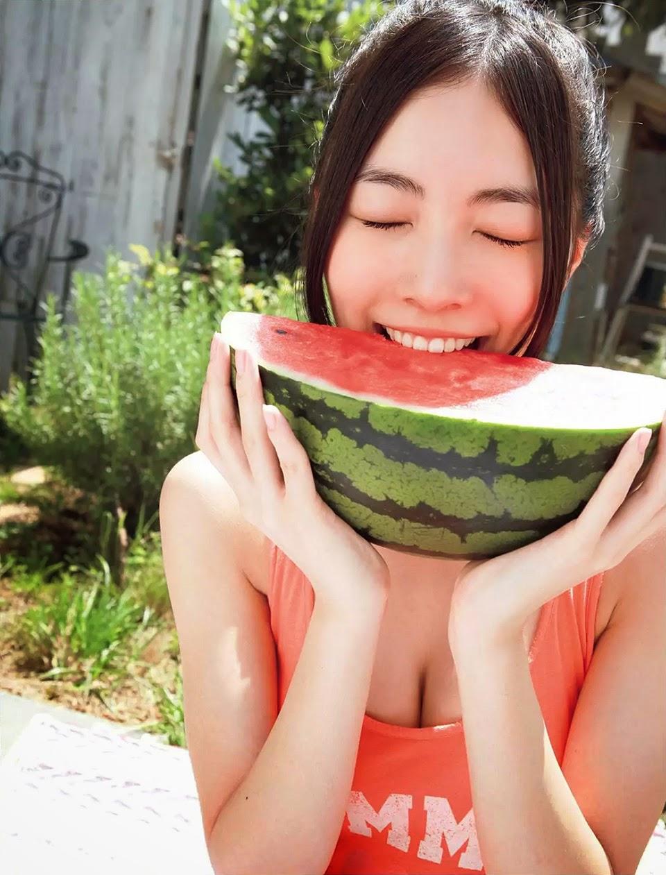 Foto Pose Seksi Jurina Matsui AKB48