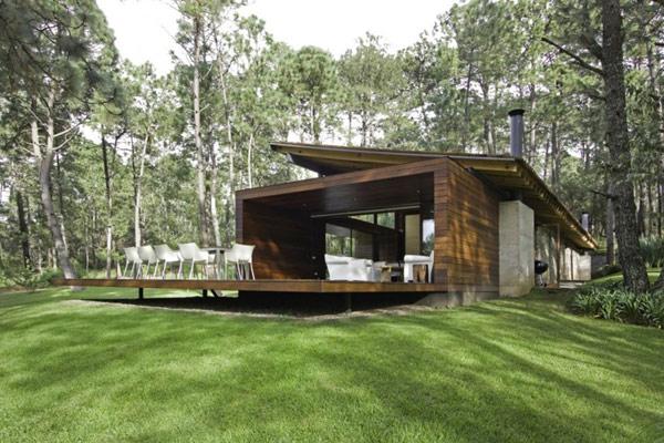 Hogares frescos fin de semana casa de campo en m xico for Casa moderna en el campo