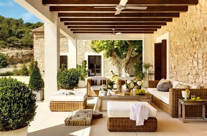 Ver casas rusticas por dentro dise os arquitect nicos for Ideas para hacer una terraza