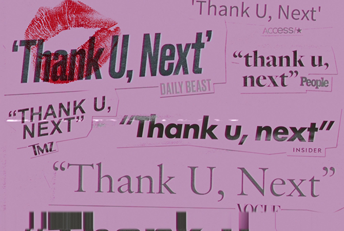 Ariana Grande - Thank u, next | Random J Pop