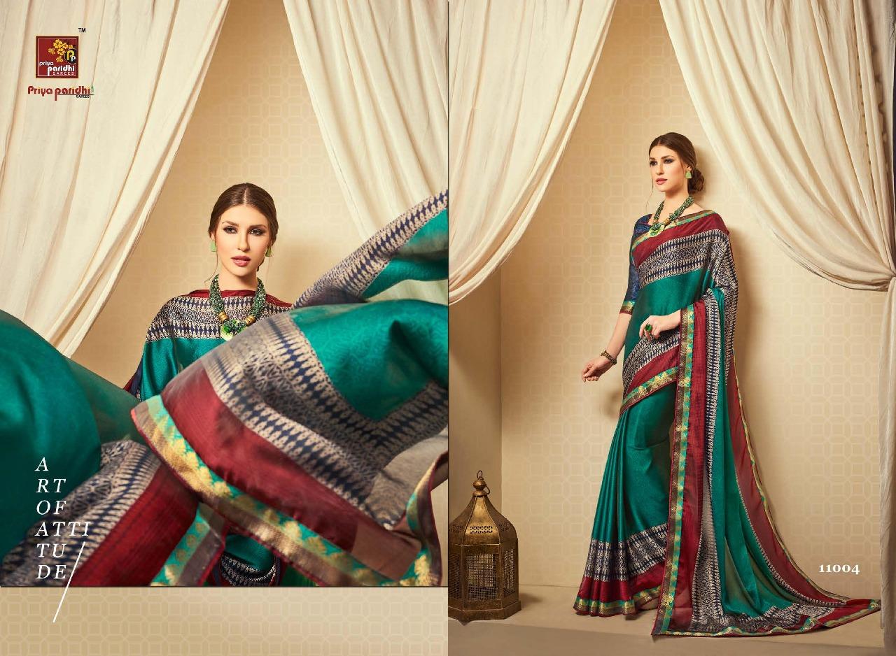 Priya paridhi shaily party wear sarees catalog