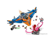 Toy Fair 2017 LEGO Guardians of the Galaxy Vol.2 76081 The Milano vs The Abilisk