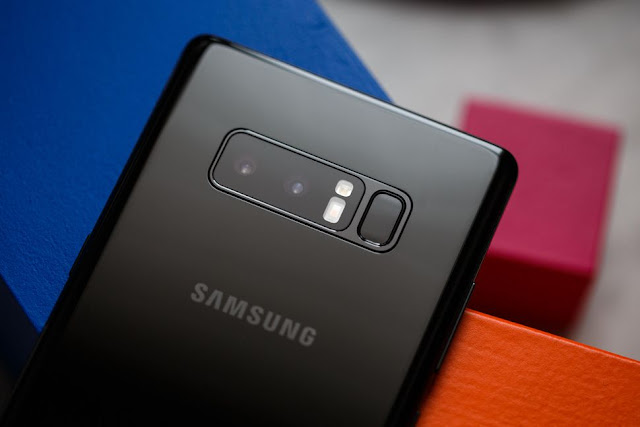 Samsung Galaxy S8 Plus vs. Note 8: The Camera
