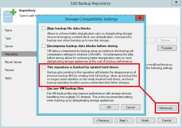 Veeam Backup: Ransomware protección