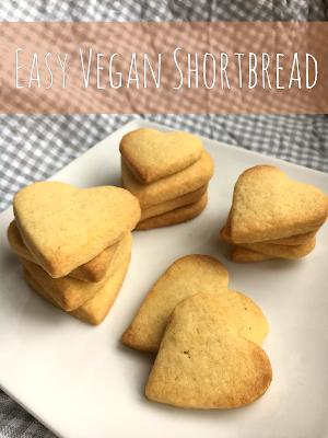 Easy Vegan Shortbread