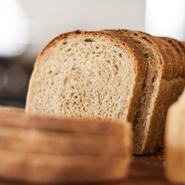 whole grain soaked wheat sandwich bread
