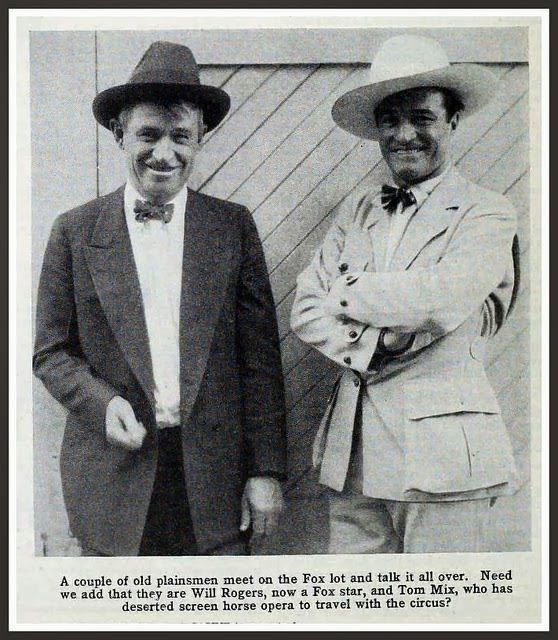 aa725291 ... declare that Tom Mix was the best cowboy of them all. Astute man. There  is probably something genetic therefore in his son being a Western blogger.