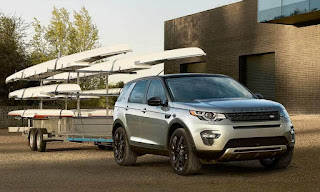 2017 range rover discovery sport towing