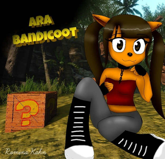 Crash Bandicoot And Ara Bandicoot Old Things