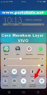 Cara mudah merekam layar VIVO Y71