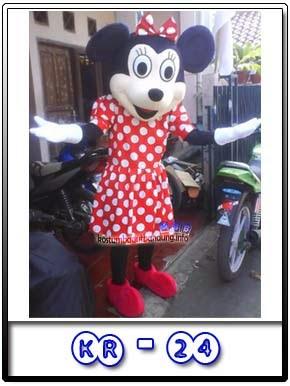 Kostum Badut Mini Mouse Kr-24 Karakter Disney