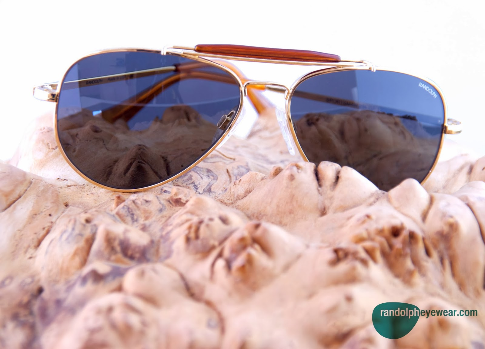 b132659e218 Randolph Eyewear makes their sunglass lenses with Glass or Polycarbonate  options. They come in many different colors