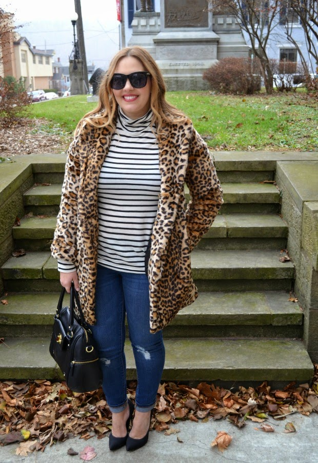 102f129336f2 ... like something like a leopard jacket should be a closet staple! I can't  wait to wear it with head to toe black. I think that is such a classic look!