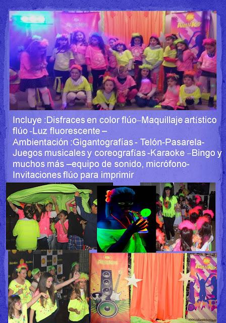 fiesta fluo neon