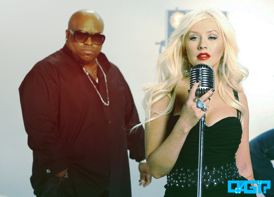 "Ouça prévia de ""Baby, It's Cold Outside"", dueto de Cee Loo Green com Christina Aguilera!"