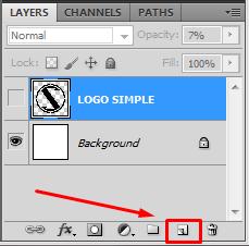 cara membuat logo brand dengan photoshop