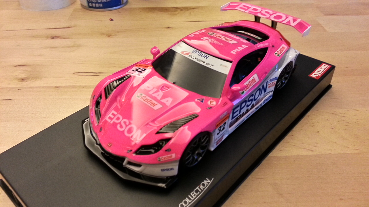 Kyoshosan Custom Painted Mini Z Hsv 010 Pink Epson Supergt Pn Racing V2 Rc Printed Circuit Board Assembly Mr03 Setting