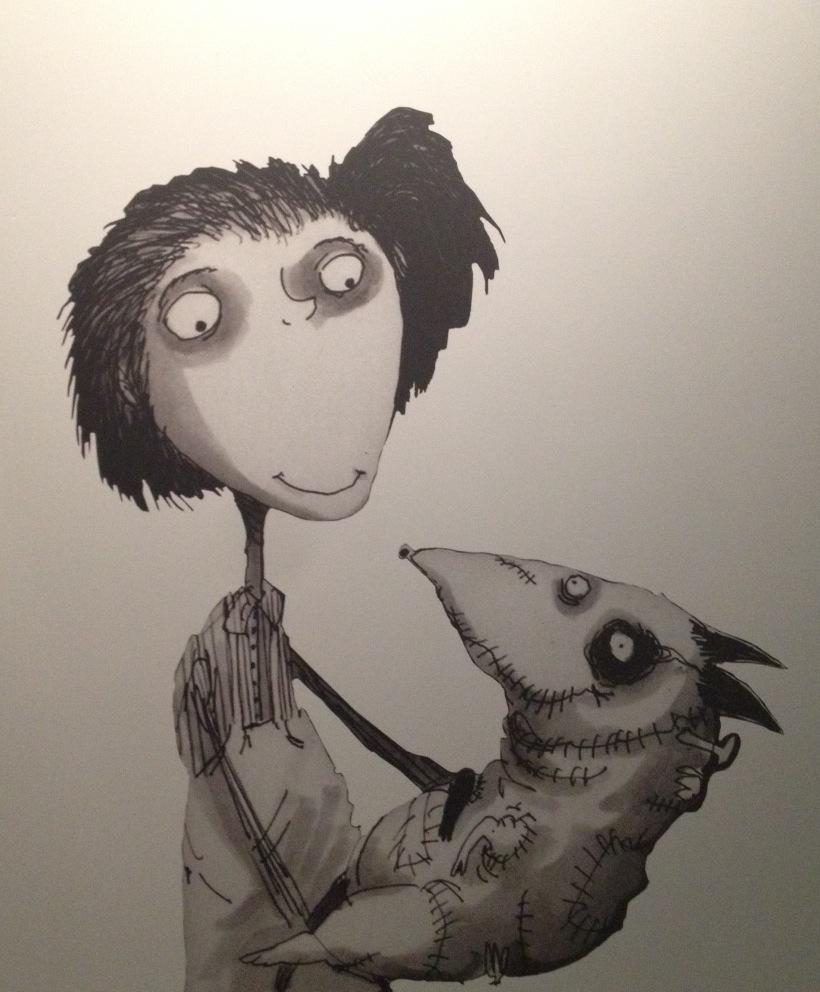 Navigating Disney Tim Burtons Frankenweenie Art Exhibit