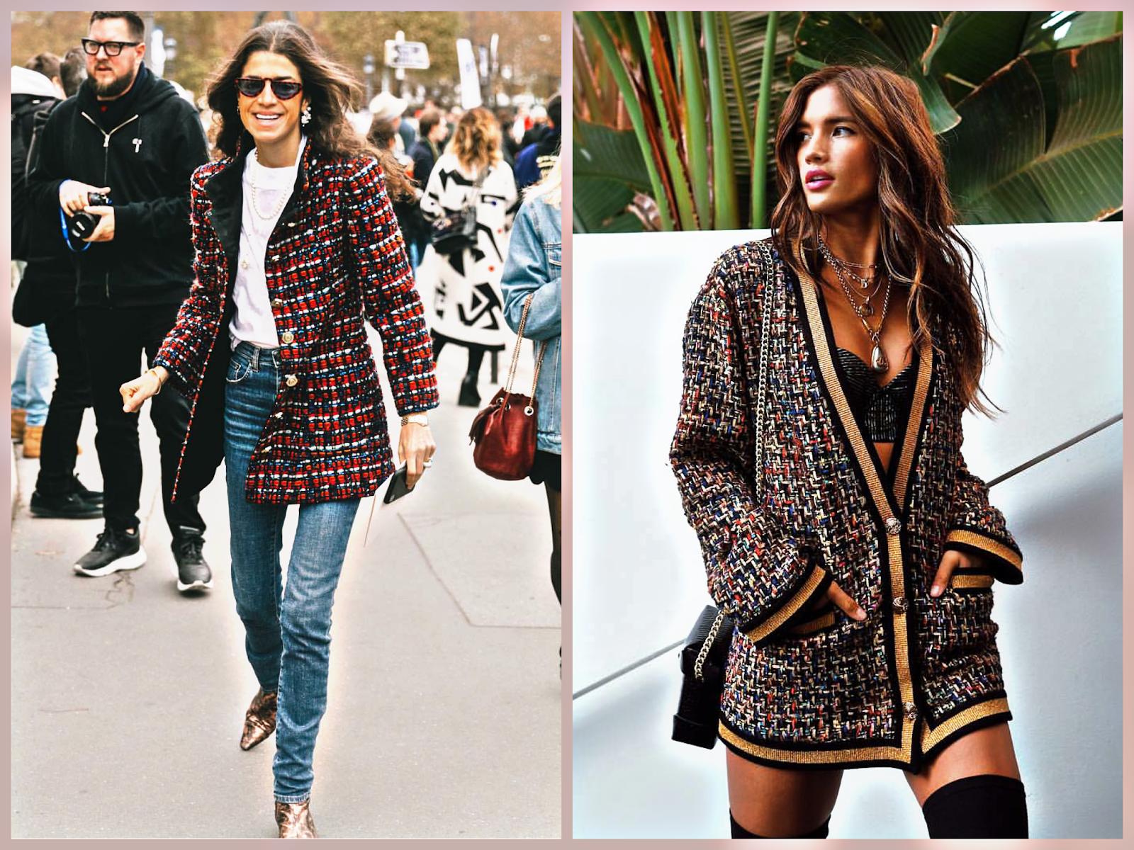 tweed trend chanel