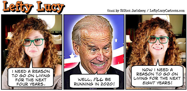 obama, obama jokes, political, humor, cartoon, conservative, hope n' change, hope and change, stilton jarlsberg, lefty lucy, biden, 2020, mad dog