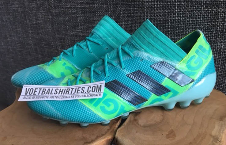 The Argentinian will receive custom editions of the Adidas Nemeziz soccer  boot. Big thanks to Dutch football boot specialists Voetbalshirtjes for the  ...