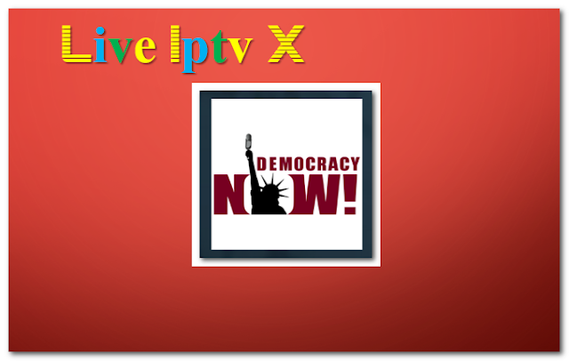 Democracy Now! news and weather Addon