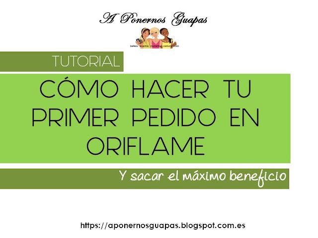 Cómo hacer tu primer pedido en Oriflame España