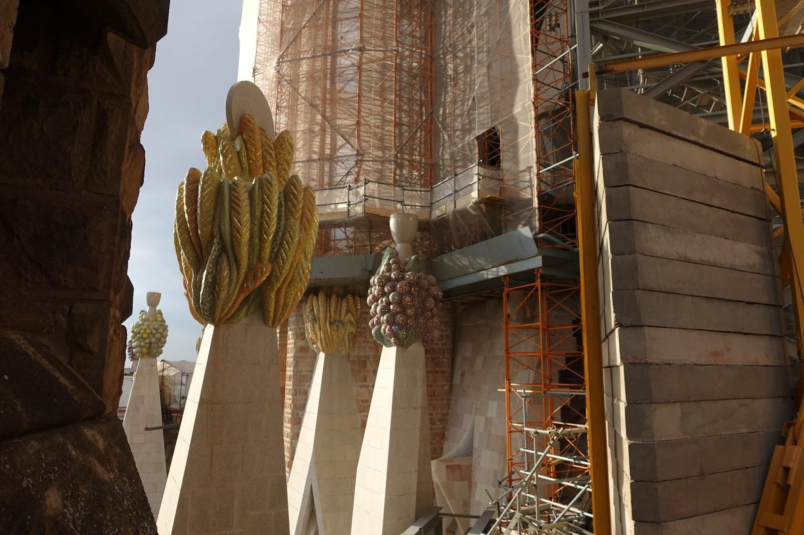 サグラダ・ファミリア (Sagrada Familia) 工事現場