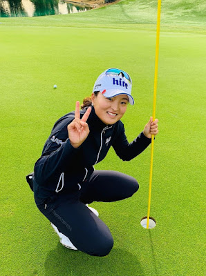 Jin Young Ko holds the record for consecutive holes without a bogey