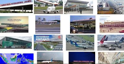 Gambar Bandara-Bandara di Indonesia