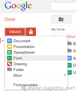 create-google-form