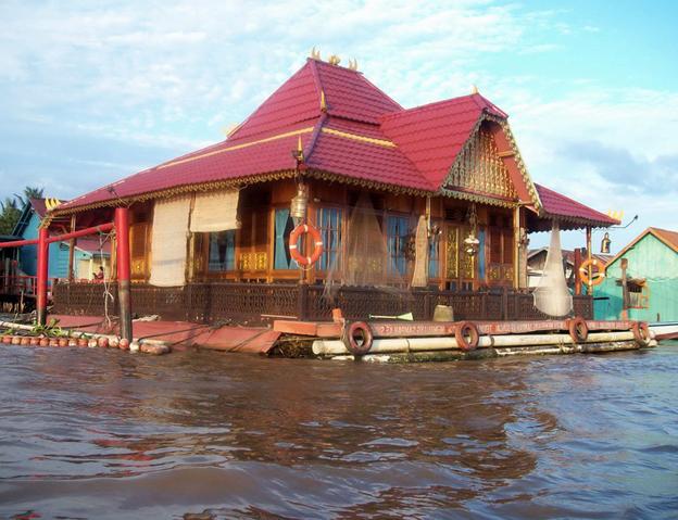 Keunikan Rumah Adat Tradisional Panggung Rakit Limas Bangka Belitung Sumatera Selatan Tipstriksib